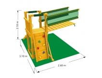 Jungle gym bridge module bestellen